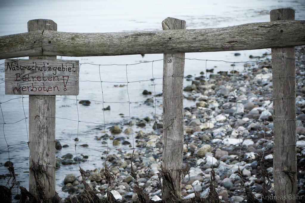 Am Strand bei Maasholm