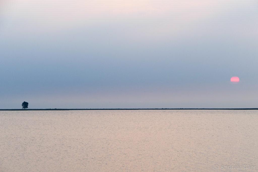 Sonnenaufgnag bei Maasholm