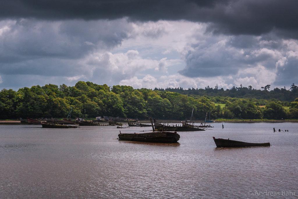 Schiffsfriedhof von Kerhervy