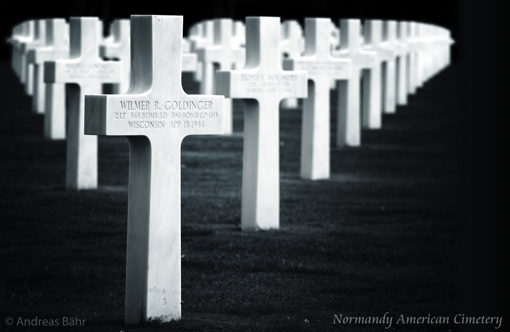 Normandy American Cimetery - Colleville sur mer