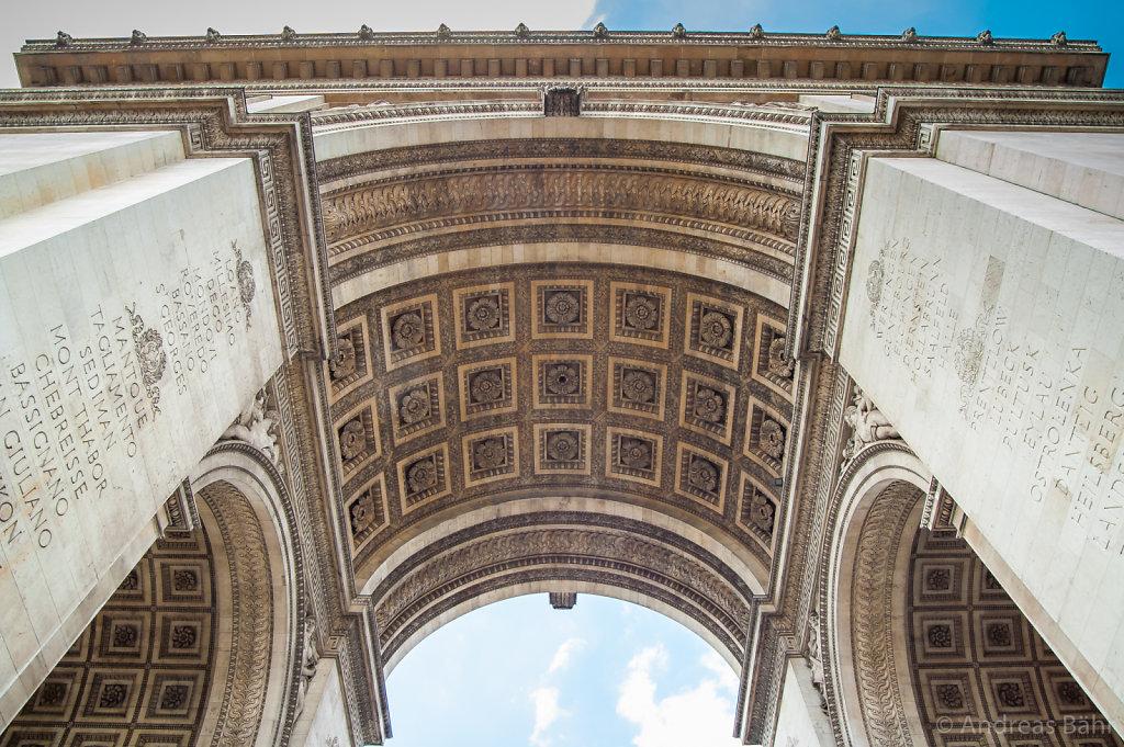 Paris - L'Arc de triomphe