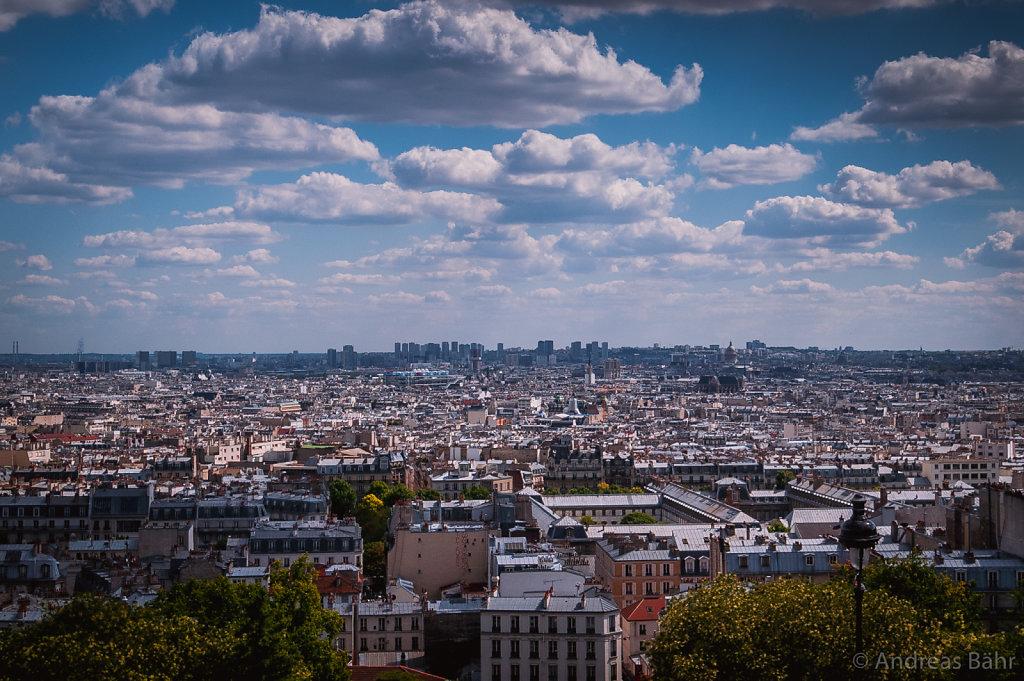 Paris - Blick vom Mont Martre